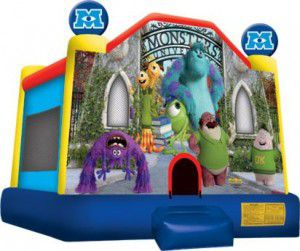 Monsters Inc Bouncy Castles