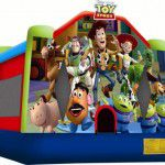 Toy Story 3 Bouncy Castle