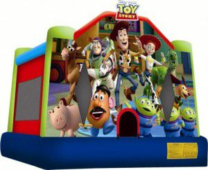 Toy Story 3 Bouncy Castle Hire