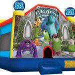 Monsters Inc Bouncy Castle